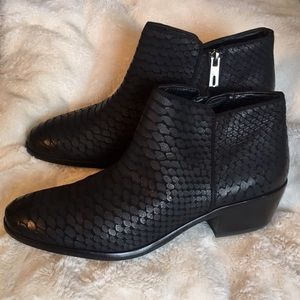 Black Snake Sam Edelman Petty Ankle Bootie 7.5